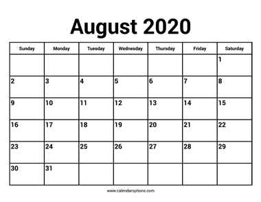 Best options to buy august 2020