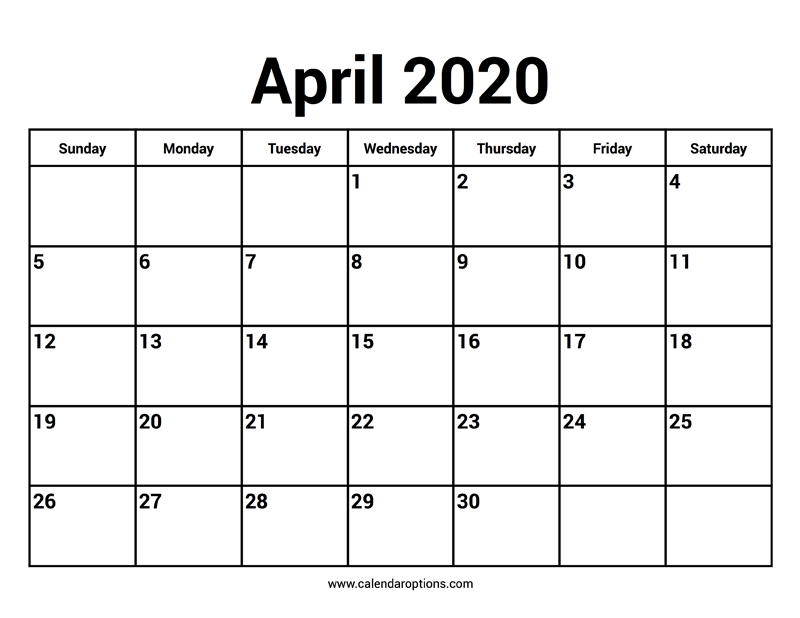 blank calendar february 2020 for 2021, [Printable and ...