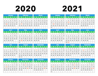 3 Year Calendar 2021 To 2023 - Calendar Options